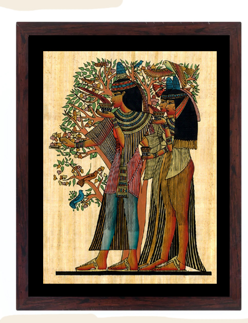 Egyptian Tree of Life Painting