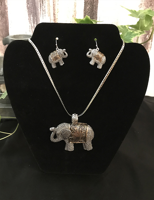 Magical Stainless Steel Elephant Set