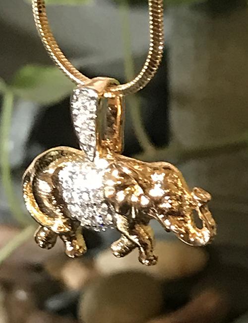 Magical 14kt Gold Filled Elephant