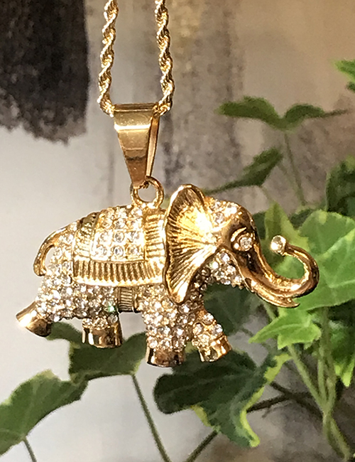 Magical 14kt Gold Plated Elephant