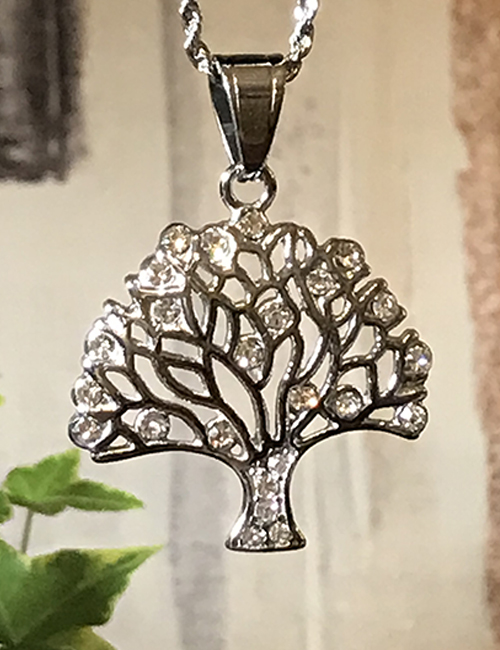 Tree of Life Stainless Steel