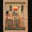 Ra 40 x 60 Papyrus Painting