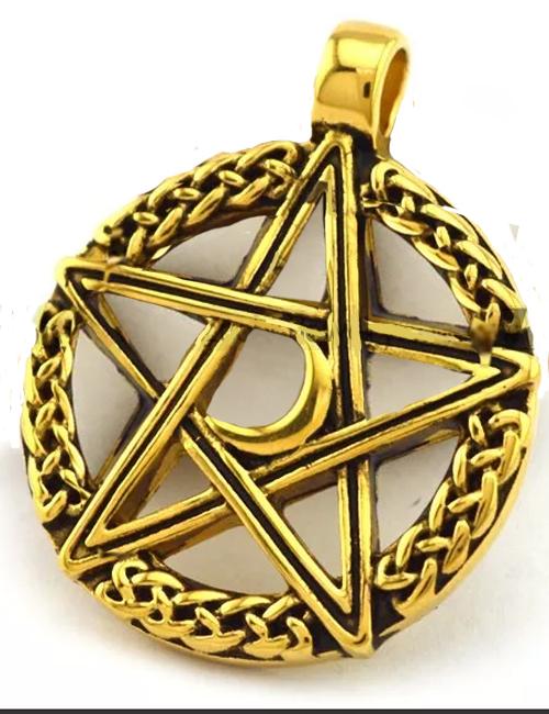 14kt Gold Filled Pentacle